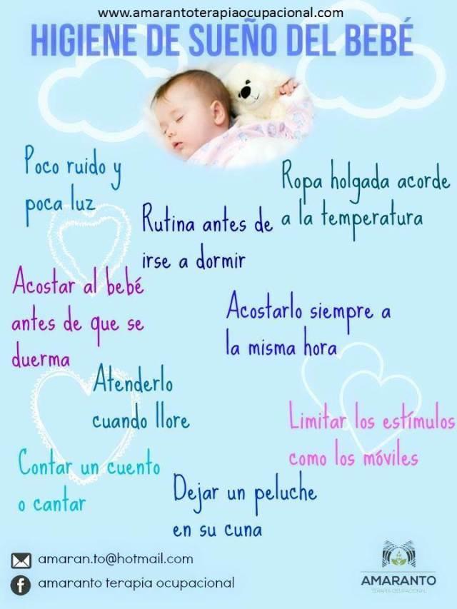 rutina del sueño bebe 3 meses
